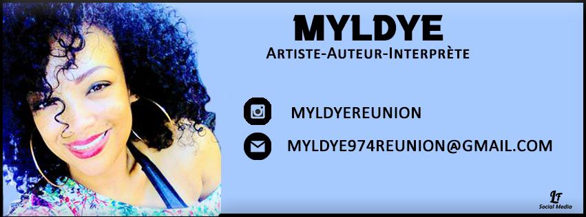 Bannière, page facebook, Myldye, artiste