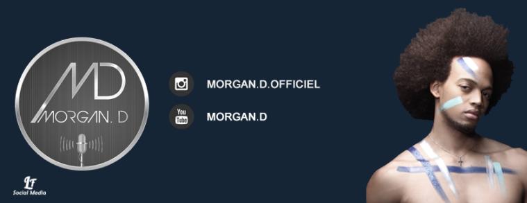 Bannière, couverture, page facebook, Morgan D, artiste