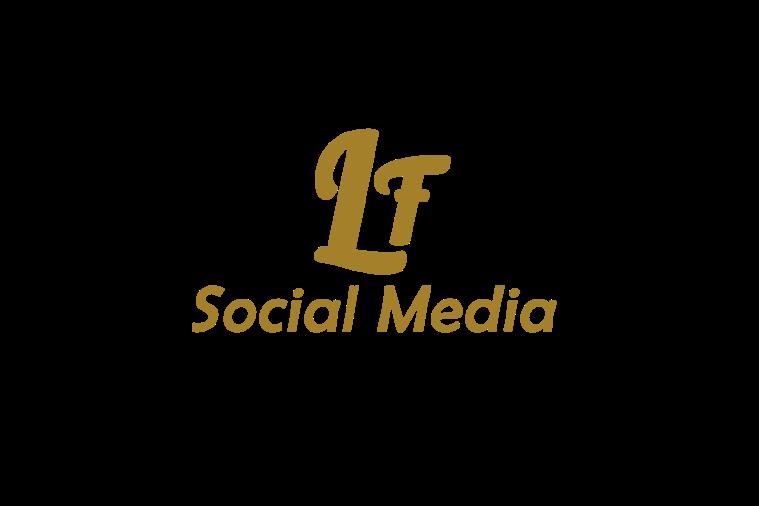 Lf Social Media, logo, création, visuel