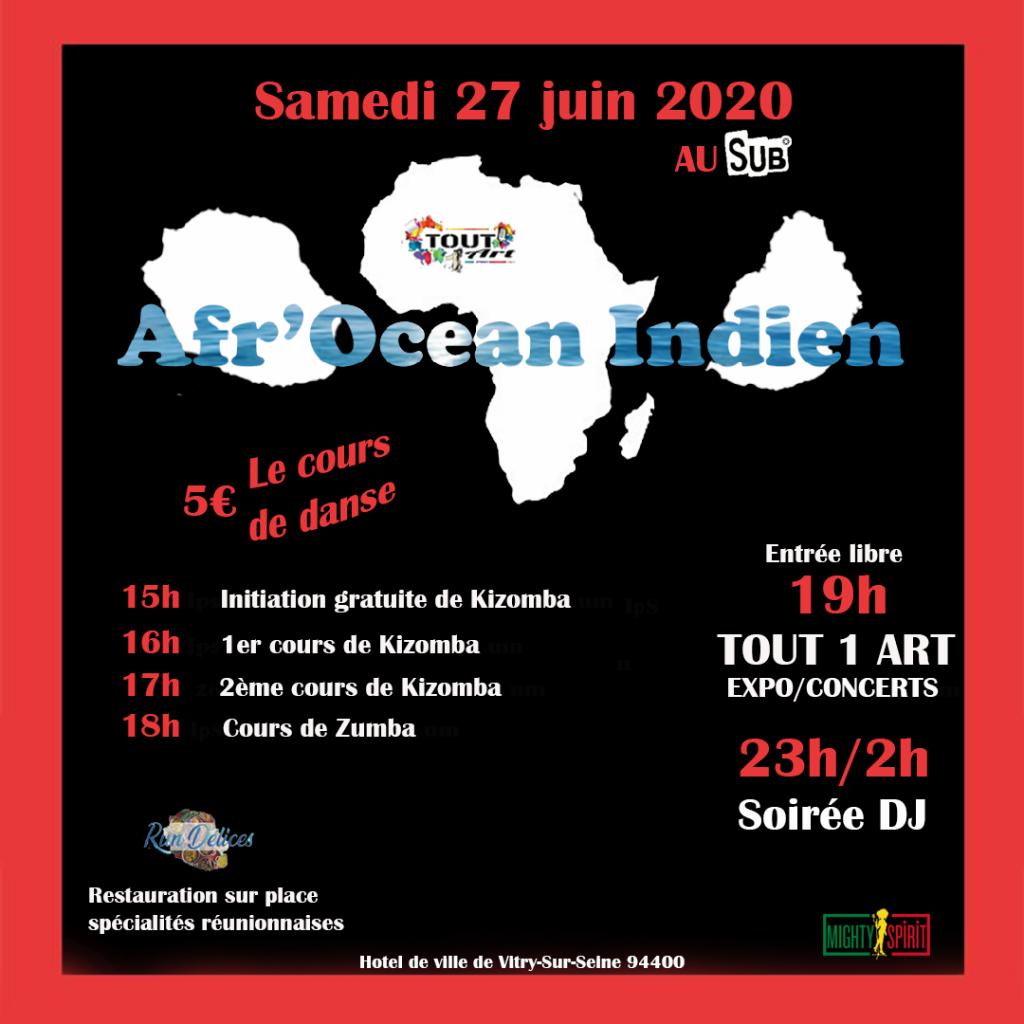 flyer, océan indien, Ile de  La Réunion, artiste