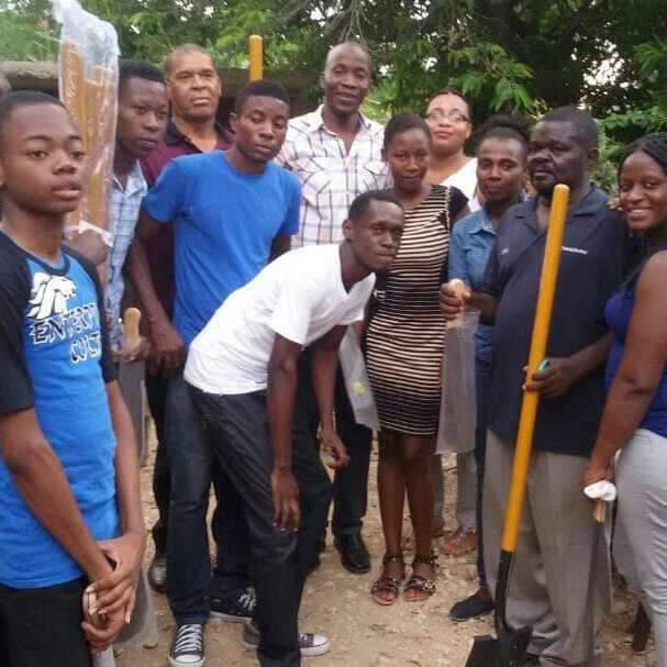 Jeunes, haitiens, Président, association, AJEV, leader