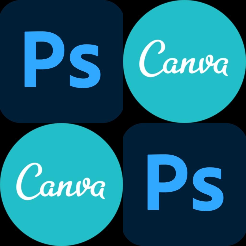 canva, photoshop, visuels, création, réalisation, cover, créativité
